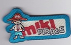 miki pirates labels for children / baby Cotton injection