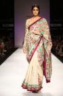 Triveni Madhubani Cotton Thread Embroidery Saree 2153