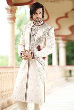 Triveni Aristocratic Embroidery Wedding Wear Sherwani 2382