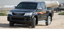 Armored Toyota hilux Double cab B4/B6 Level