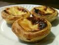 D'origine traditionnelle portugaise oeuf tarte Frozen ( Pasteis de Belem )