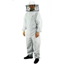 Full Bee keeping Suit, Heavy Duty NEW! L Round hood,Vented Bee Suit Air -Eco-Keeper Premium Professional Beekeeping Suit