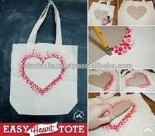 rewashable reuseable wholesale cotton recycle tote bag