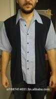 Bowling shirt, Rockabilly shirt,