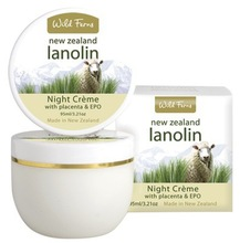 new Zealand skin care_Lanolin Night Cream with Placenta and EPO