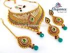 Latest 2015 Vintage Brass Necklace,-Kundan Jewelry Artificial Gold Plated Jewelry-INDIAN DESIGNER COSTUME KUNDAN JEWELRY