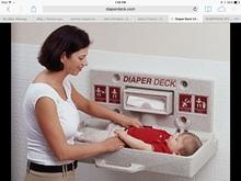 Diaper Deck Commercial Infant Changing Station