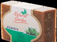 Natural garden hand soap