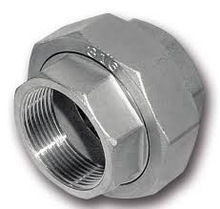 Stainless Steel Threaded fittings Conical Union