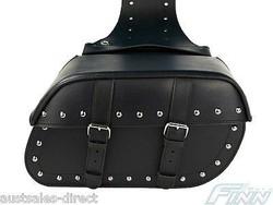 Handmade Motorcycle Leather Bag / Saddle Bag