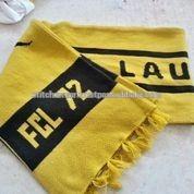 Custom football fan scarf