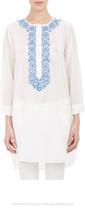 2015 new design cotton embroidered kurti ladies blouse latest blouse design tunic