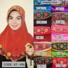 Embroidery fancy hijab