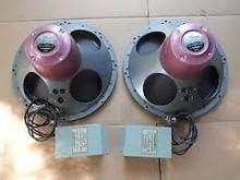 TANNOY monitor red 15' matching pair speaker