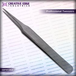 Eyelash extension tweezers / Eyebrow tweezers / stainless steel tweezers CES 1353