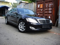 Mercedes Benz S350L 2008 for Export Singapore Used Cars