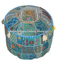 antique european style fabric ottoman bench stool puff ottomans pouf wholesale lot