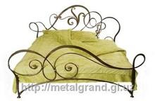 Wrought iron bed Josephine