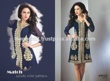 Wholesale tunics - Kurtis -Embroidery Kurtis - party wear tunic - Women linen tunics-Indian fashion Kurtis -Indian ethnic tops
