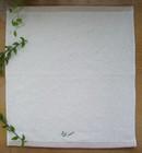 100% organic cotton face towel non bleach original color