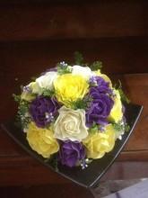 2015 artificial souvenir handmade clay rose peony bell flower for home garden office decoration