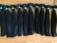 Virgin straight hair super double drawn hair silky and smoothly hair availabe