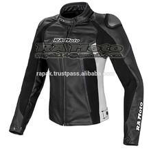 Women Motorcycle leather jacket, motorbike leather jacket