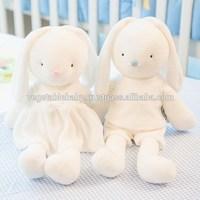 baby Eco-Friendly Korea Constarch Rag Doll-Eco Rabbit