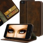 Geniune Leather case for iPhone 5 / iPhone 5s Antic Brown Cow Leather