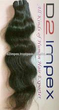 cheap remy human hair weaving fine quality