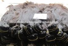 UNPROCESS INDIAN HUMAN HAIR NATURAL HAIR EXPORTER