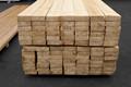 Grande quantidade de pinho, faia, spruce madeira serrada