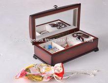 Fashion top sell jewelry box custom logo