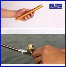 2015 creative mini portable 21cm long fishing rod blanks