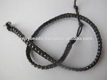 High quality most popular leather snake bracelet