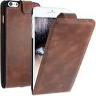 Geniune Leather case for iPhone 6+ Plus Brown Cow Leather