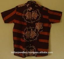 Batik cotton printed export manufacturer shirts