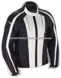High Quality leather motorbike jacket