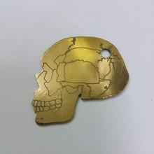Skull shaped Brass Picks