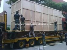Trailer transport, out of gauge transport , out of gauge packing