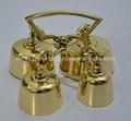 brass bell altar para igreja