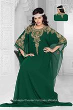 2015 Latest America Islamic Kaftan Design For Muslim Womens Clothing with moroccan kaftan