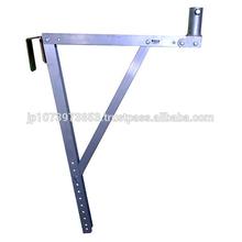 น้ำหนักเบาและง่ายต่อการดำเนินการก่อสร้างนั่งร้านกับมุมปรับ