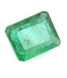 2.74 Cts Certified Columbian Mines Emerald Gemstone -3.00 Ratti+