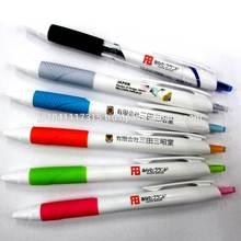 uni jetstream smooth writing, print logo ballpoint pen