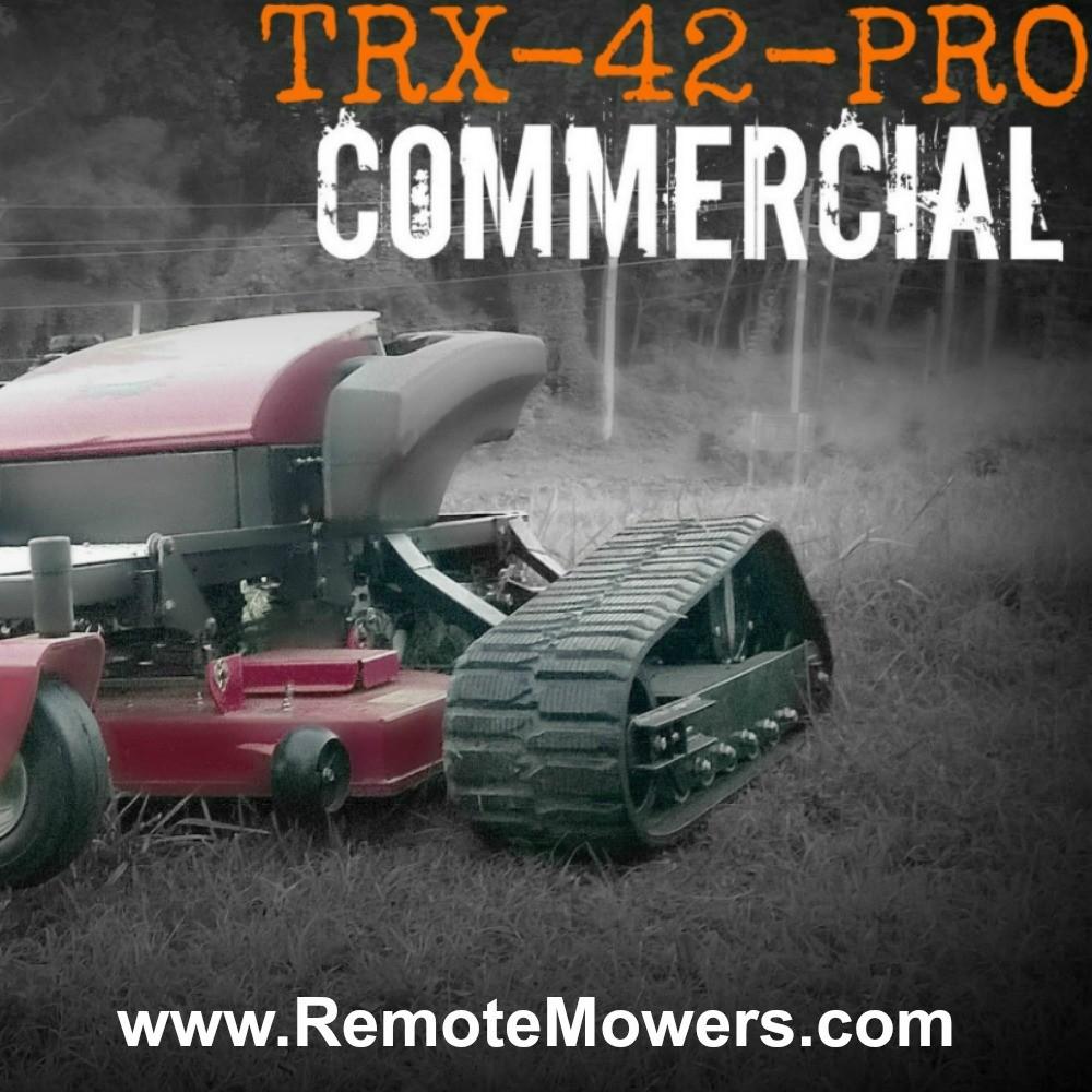 Trx 42 Pro Robotic Remote Control Lawn Mower View Robot