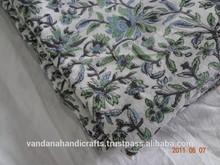 hand block print khadi fabric manufacture