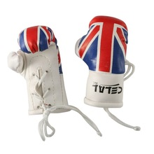 National Flag Boxing Key Ring