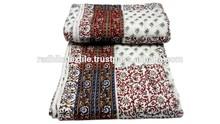 RTHKQ-5 Multi Patchwork kantha Quilt For Winter Usable Jaipuri Razai Manufacturers