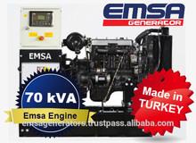 In stock 70 kVA Emsa Diesel Generator